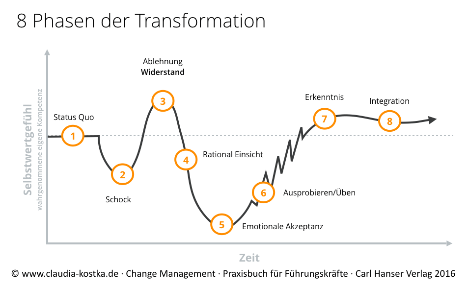 8-Phasen der Transformation